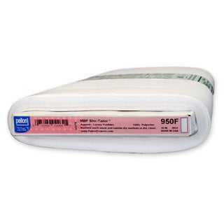 Fusible Non-woven White Polyester Interfacing - 10 Yds