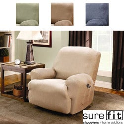Sure Fit Stretch Stripe Recliner Slipcover