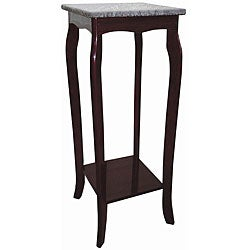 Marble Top Cherry Phone Table