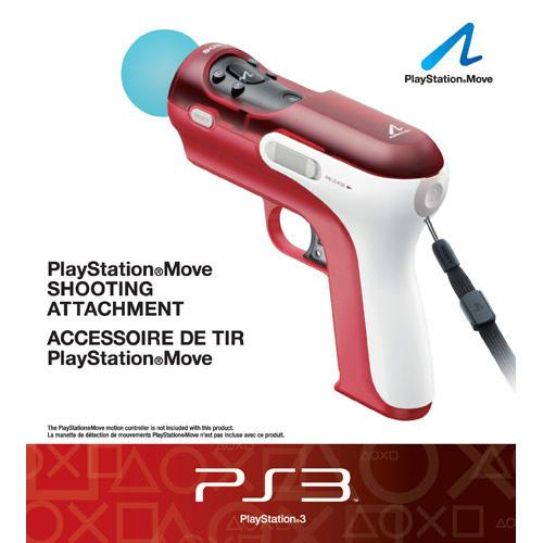 PS3- PlayStation Move Shooting Attachment - By Sony Computer Entertainment