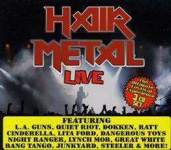 Various - Hair Metal Live