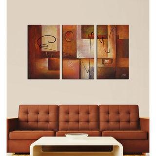 'Abstract 11' 3-piece Canvas Art Set