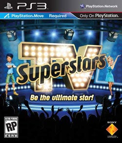 PS3 - TV Superstars (PlayStation Move) - By Sony Computer Entertainment