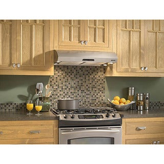 Broan Evolution 2 Series 30-inch Stainless Steel Under-cabinet Range Hood