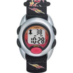 Timex Kids' T78751 Digital Flames Fast Wrap Velcro Strap Watch