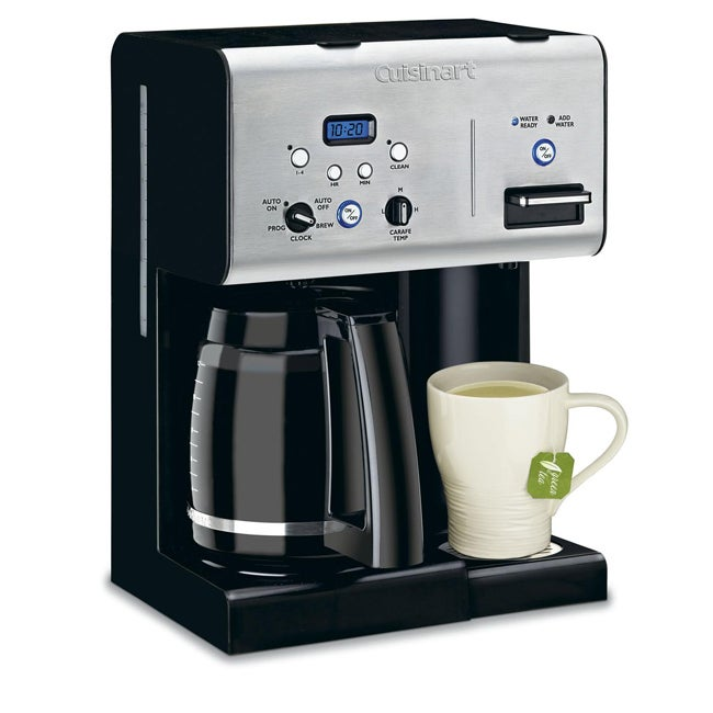 Cuisinart 10 Cup Coffee Maker With Hot Water System : Cuisinart CHW-12 12-cup Programmable Coffeemaker with Hot Water System - Overstock Shopping ...
