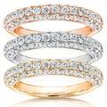 Annello 14k Gold 1ct TDW Diamond Wedding Band (H-I, I1-I2)