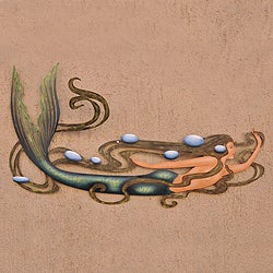 Steel 'Mermaid Magic' Wall Art (Mexico)