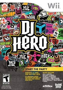 Wii - DJ Hero (game only) - By Activision