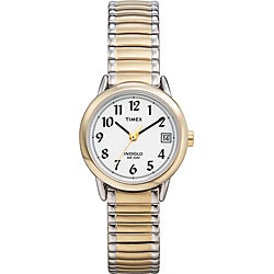 Timex Women's T2H381 Easy Reader Stainless Steel Expansion Band Watch