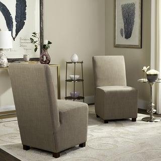 Safavieh Blocks Beige Side Chairs (Set of 2)
