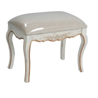 Safavieh Diane Hand-painted White Bench