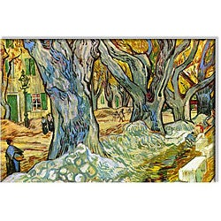Vincent Van Gogh 'Roadman' Small Canvas Art