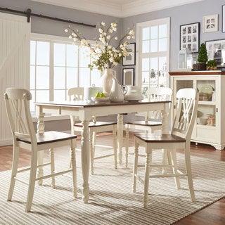 TRIBECCA HOME Mackenzie 7-piece Country White Dining Set