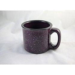 Santa Fe Style Plum Ceramic Mugs (Pack of 4)