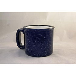 Santa Fe Style Cobalt Blue Ceramic Mugs (Pack of 4)