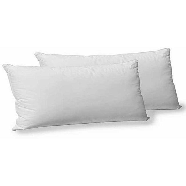 Cotton Polyester Gel-filled King-size Pillow (Set of 2)