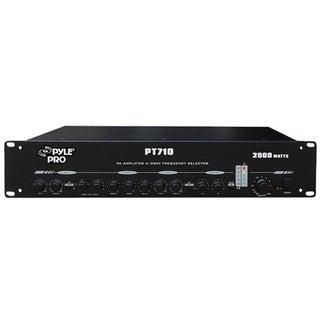 PylePro PT710 Amplifier - 2000 W RMS - 2 Channel