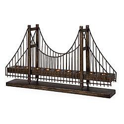 Iron Argento Bridge Votive Candle Holder