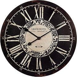 Wood Provence Wall Clock
