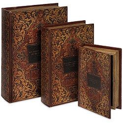 Florence 3-piece Book Box Collection