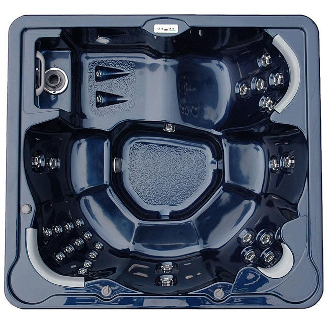 Home and Garden Spas 6-person 40-jet Hot Tub with MP3 Aux Output