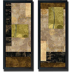 Brent Nelson 'Elevate' 2-piece Framed Canvas