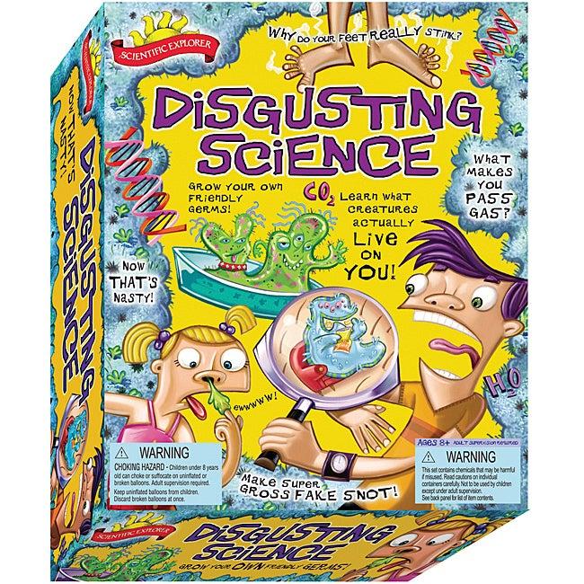 Scientific Explorers 'Disgusting Science' Kit