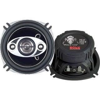 Boss PHANTOM P45.4C Speaker - 125 W RMS - 250 W PMPO - 4-way - 2 Pack