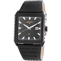 Hector France Men's 'Fashion' Square Date Watch