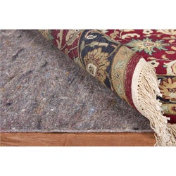 Deluxe Hard Surface and Carpet Rug Pad (8'x10' Oval)