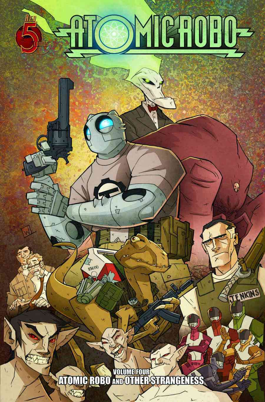 Atomic Robo 4: Atomic Robo and Other Strangeness (Paperback)