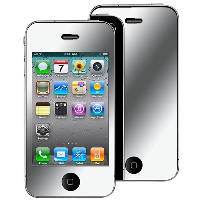 INSTEN Mirror Screen Protector for Apple iPhone 4
