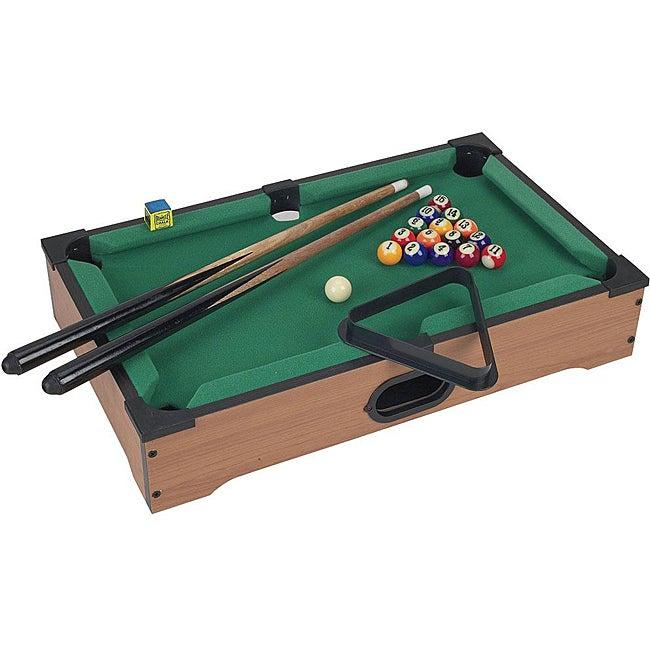 Mini Table Top Pool Table Set