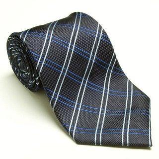 Platinum Ties Men's 'Blue Vein' Tie