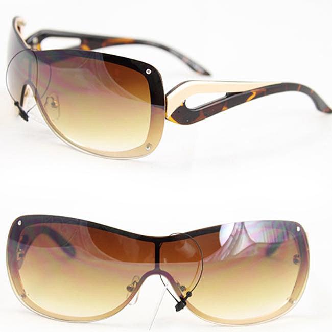 Women's M9203 Two-tone Rimless Sunglasses