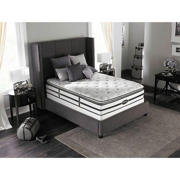 Beautyrest Classic Meyers Plush Pillow-top Queen-size Mattress Set