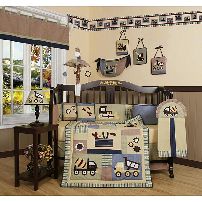 Constructor 13-piece Crib Bedding Set