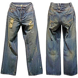 Reco Jeans Men's Lewton Polygala Relaxed Jeans