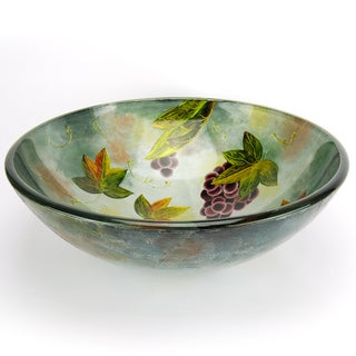 Fontaine Tuscany Spring Glass Vessel Bathroom Sink