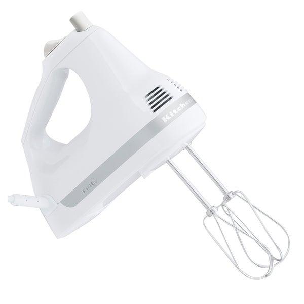 KitchenAid RRKHM5WH White 5-speed Ultra Power Hand Mixer (Refurbished)