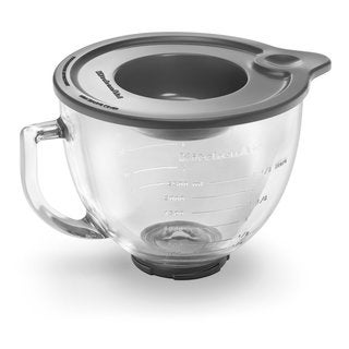 KitchenAid K5GB 5-Quart Glass Bowl with Lid