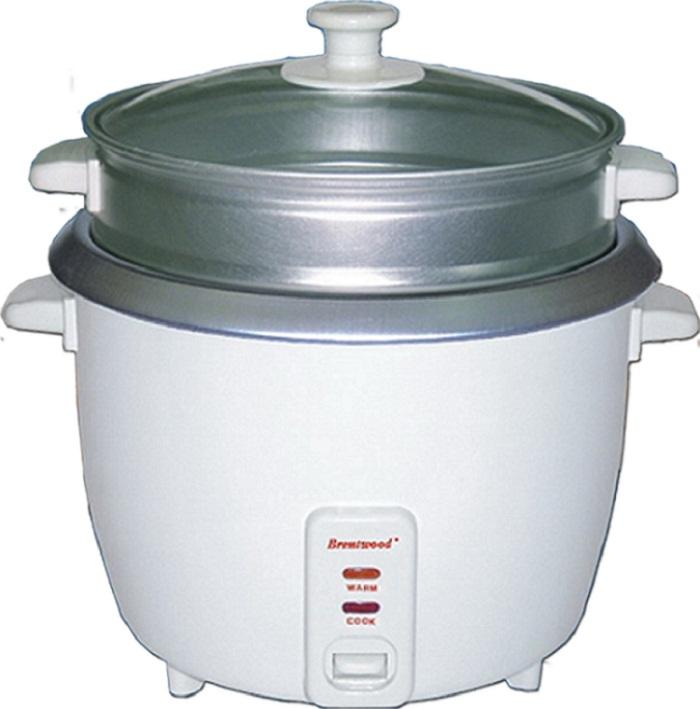 Brentwood TS-480S 2.5-liter Rice Cooker and Steamer