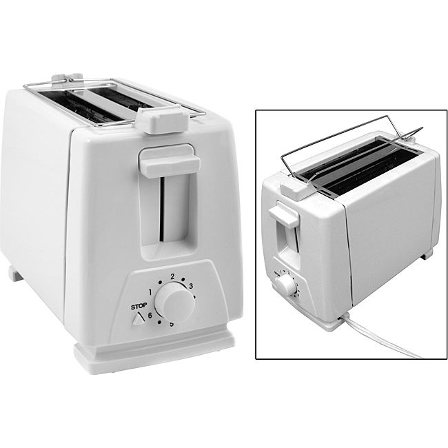 KitchenWorthy 2-slice Toasters with Bun Warmers (Pack of 6)