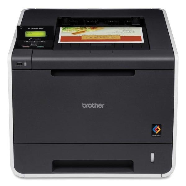 Brother HL-4570CDW Laser Printer - Color - 2400 x 600 dpi Print - Pla