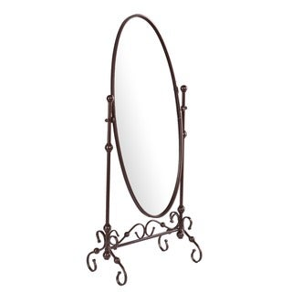 Upton Home Rowan Cheval Antique Bronze Mirror