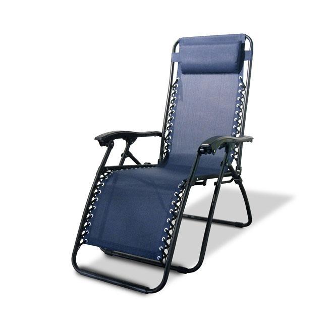 Caravan Canopy Blue Zero-Gravity Chair