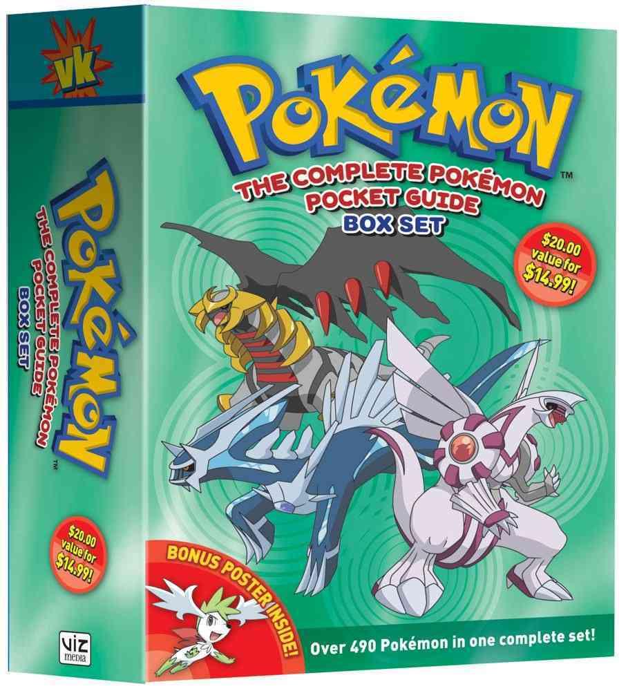 Pokemon: The Complete Pokemon Pocket Guide (Paperback)