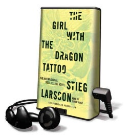 The Girl With the Dragon Tattoo: Library Edition (Pre-recorded digital audio player)