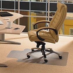 Floortex Cleartex Rectangular Advantagemat (46 x 60) for Carpet